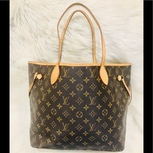 Authentic Louis Vuitton Neverfull MM # 9.3V